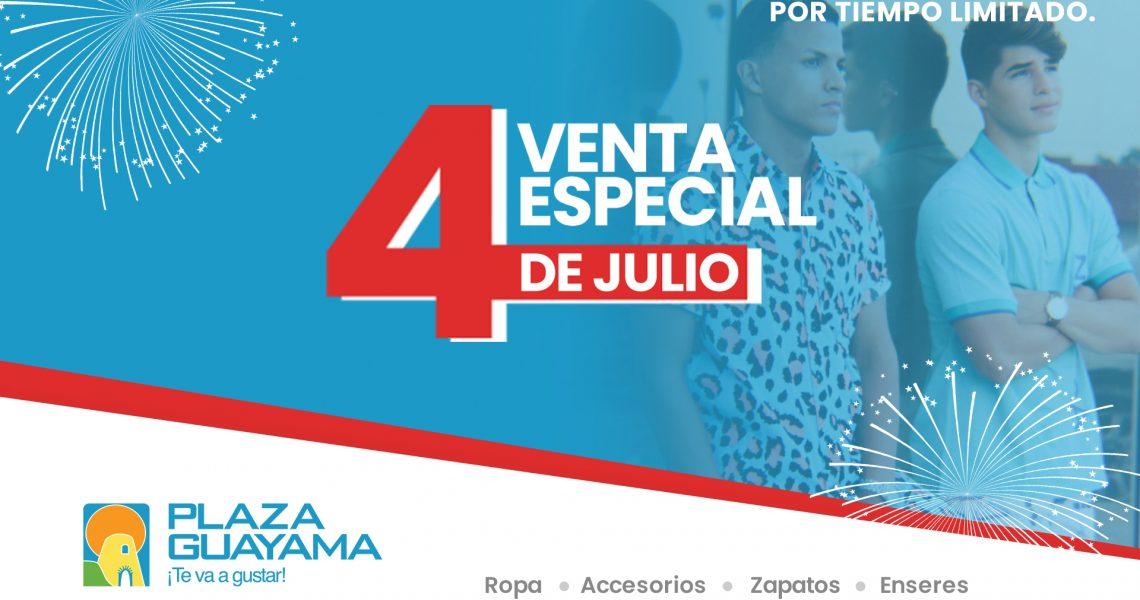 Venta Especial del 4 de julio – Junio 28 a Julio 4
