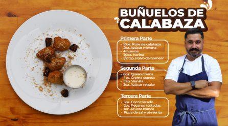 Receta: Buñuelos de Calabaza